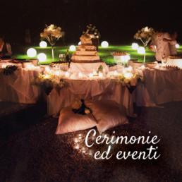 Cerimonie ed eventi Fioreria Dante